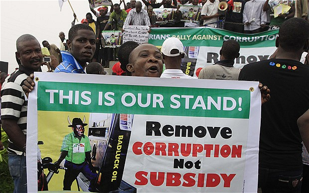 Occupy Nigeria Commemorates Uprising